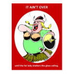 it-aint-over-until-the-fat-lady post card
