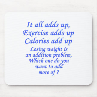 It all adds up mousepad