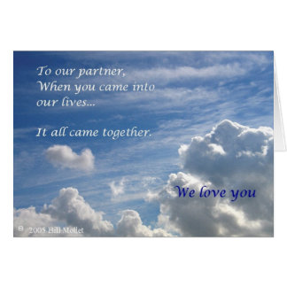 It All Came Together Card