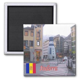 IT - Andorra - Area's Leading - Vigil of Christmas Square Magnet