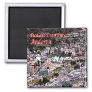 IT - Andorra - Escaldes - Engordany Square Magnet