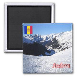 IT - Andorra - Grau Roig Square Magnet