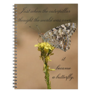 It Became a Butterfly - Notebook