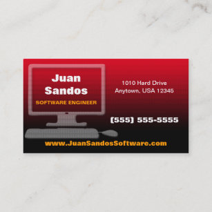 Software engineer business cards zazzle uk it business card reheart Images