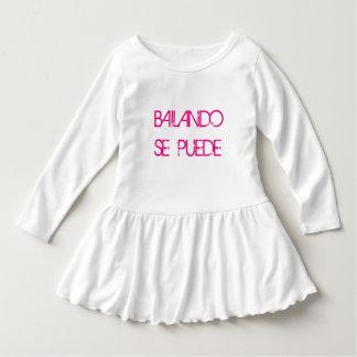 It can be achieved through dancing girl shirtdress t-shirt