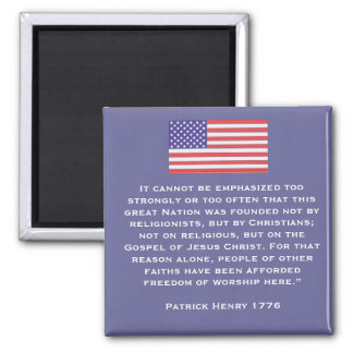 It cannot be emphasized too strongly or too often square magnet