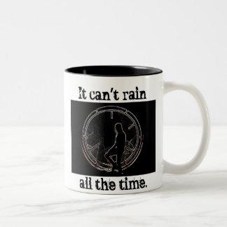 It Can't Rain All The Time Two-Tone Coffee Mug