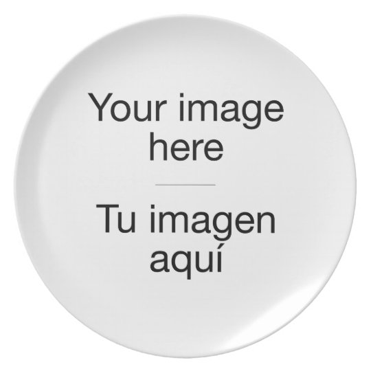 It creates decorative plate with your own design