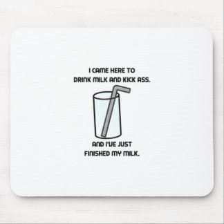 IT Crowd Drink Milk Mouse Mat