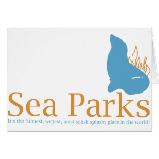 IT Crowd Sea Parks Greeting Card
