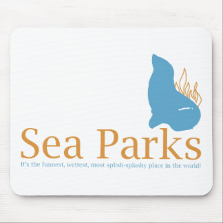 IT Crowd Sea Parks Mousepad
