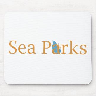 IT Crowd Sea Parks Mouse Pads
