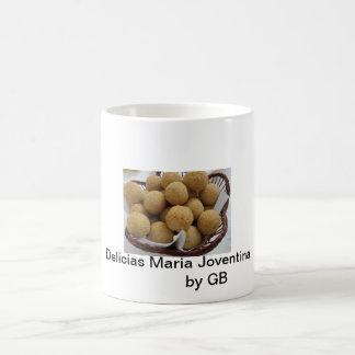 It delights of Maria Joventina Basic White Mug