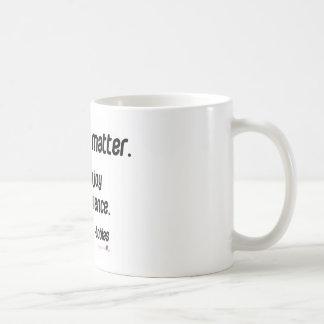 It doesn't matter. Just enjoy Basic White Mug