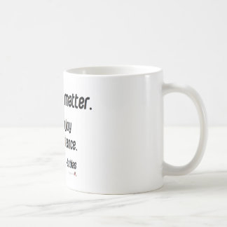 It doesn't matter. Just enjoy Coffee Mugs