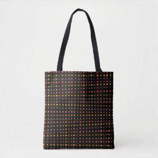 It draws into squares tote bag