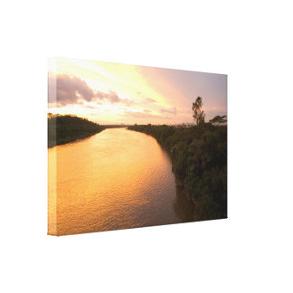It drinks in the Colors of God Stretched Canvas Print