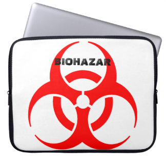 """It founds for Notbook """"BIOHAZAR """" Laptop Sleeve"""
