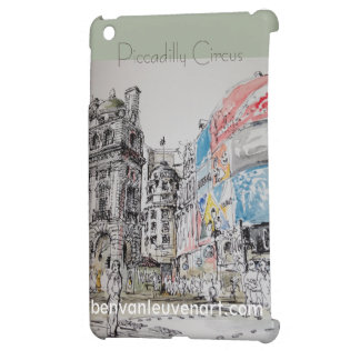 It founds Piccadilly Circus iPad Mini Cover