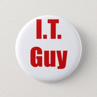 IT Guy 6 Cm Round Badge