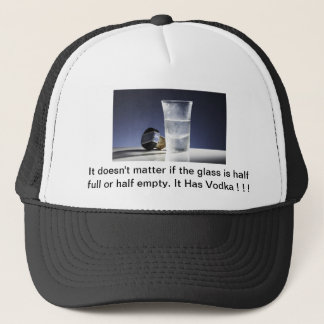It Has Vodka :D Trucker Hat