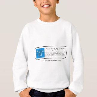IT Helpdesk Rules Sweatshirt