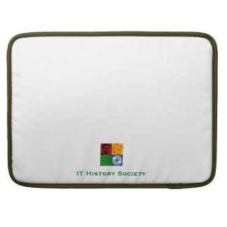 "IT History Society 15"" laptop case (original logo) Sleeve For MacBooks"