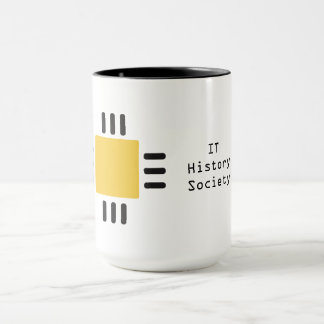 IT History Society coffee mug (CPU logo)