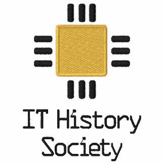 IT History Society golf shirt (CPU logo) Embroidered Polo Shirt