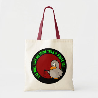 It hurts me to put you on performance improvement budget tote bag