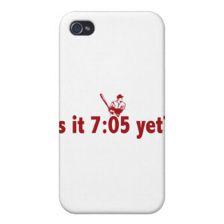 It is 7:05 Yet? (Philly Baseball) iPhone 4/4S Covers
