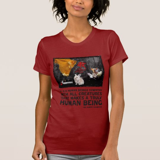 It is a human beings sympathy T-Shirt