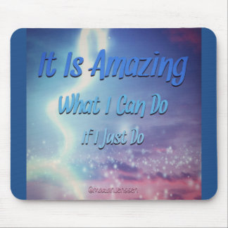 It is amazing mouse mat
