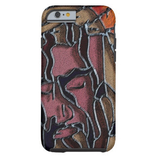It is Finished stained glass Tough iPhone 6 Case