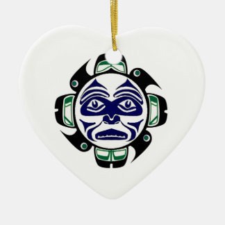 IT IS KNOWN CERAMIC HEART DECORATION