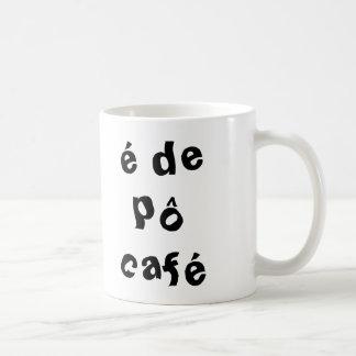 it is of PO coffee Basic White Mug