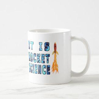 It Is Rocket Science Basic White Mug