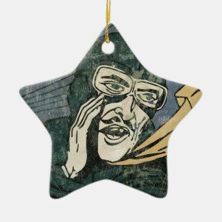 It is secret! ornament
