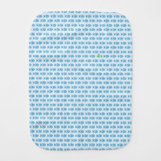 It is surrounded by enemies ON all sides. Blue Burp Cloth