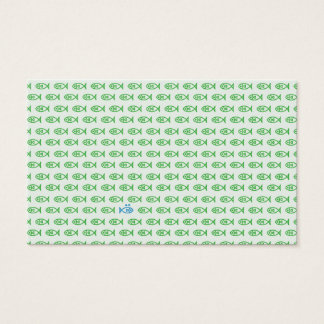 It is surrounded by enemies ON all sides. Green Business Card