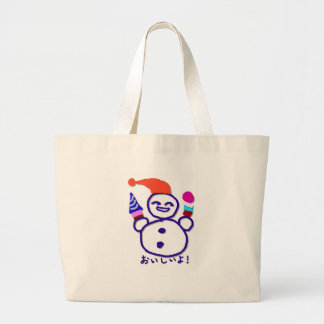 It is tasty jumbo tote bag