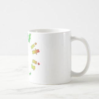 It is what it is colorful humor design! coffee mug