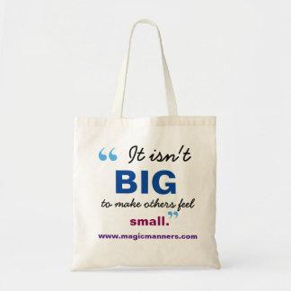 It isn't Big Library Bag