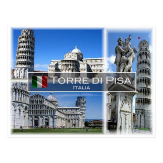 IT Italia -  Torre di Pisa - Postcard