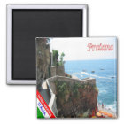 IT - Italy - Amalfi Coast - Praiano Magnet