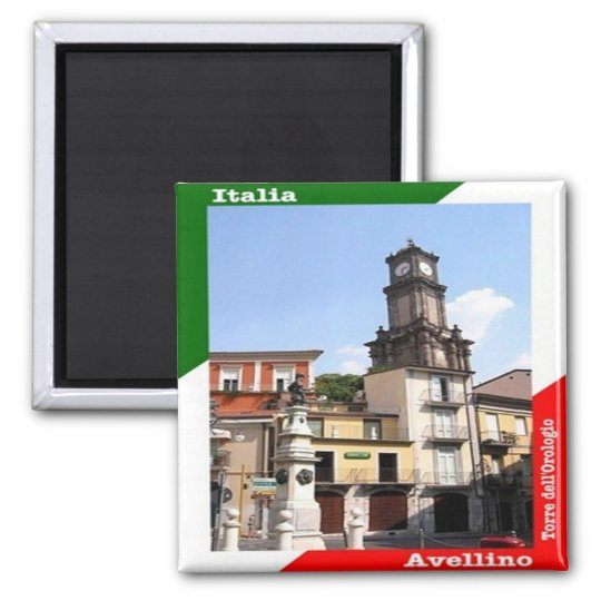 IT - Italy - Avellino Square Magnet