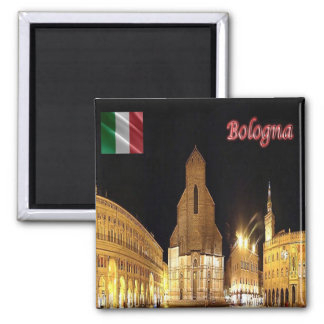 IT - Italy - Bologna Square Magnet