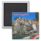 IT - Italy - Cinque Terre - Riomaggiore Magnet
