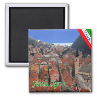 IT - Italy - Finale Ligure Square Magnet