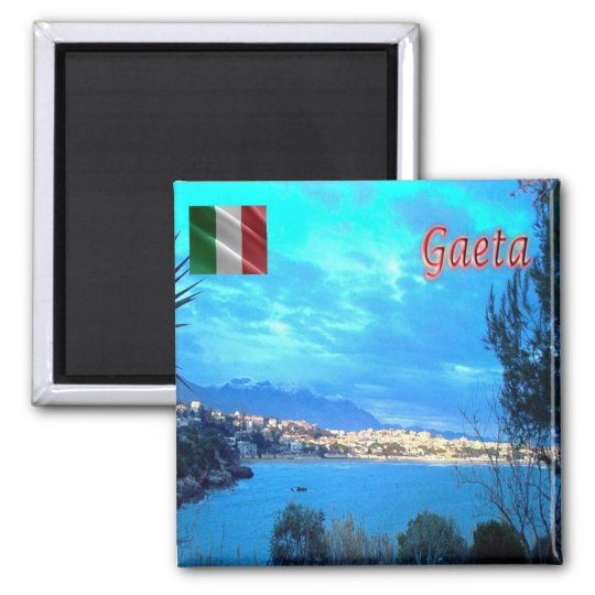 IT - Italy - Gaeta (LT) - Panorama Square Magnet